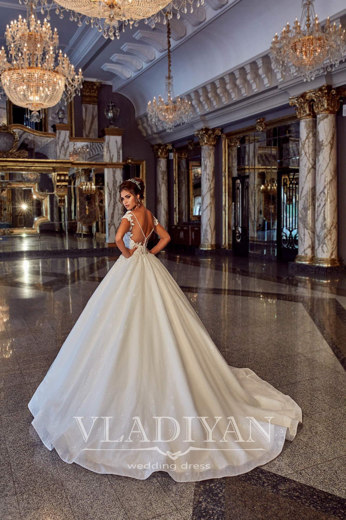Vladiyan 05 2 Rochie De Mireasa 2018 Salon Vivianne