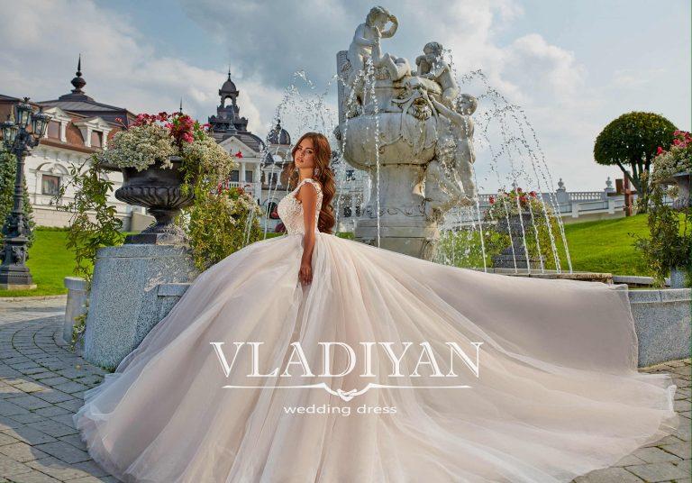 Vladiyan 55-6 · Rochie de mireasa 2018